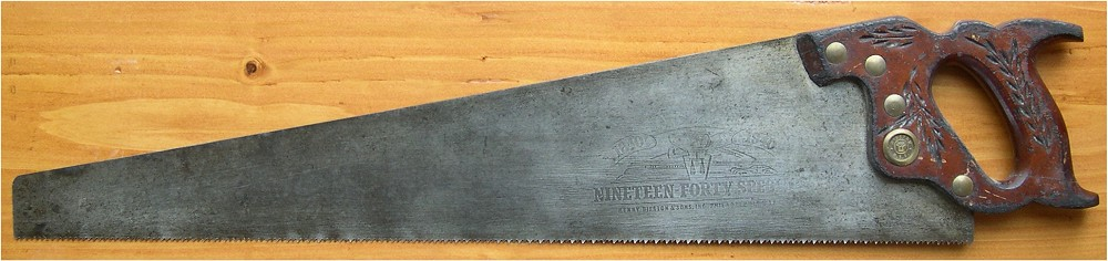 1940 Special handsaw