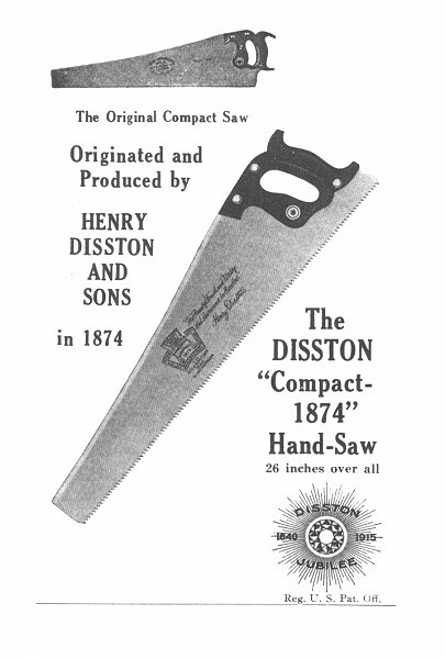 Compact 1874 Handsaw ad