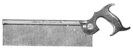 1890 Jackson Backsaw Illustration