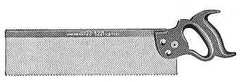 Jackson Backsaw 1911 Catalog Illustration