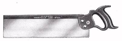 Jackson Backsaw 1932 catalog Illustration